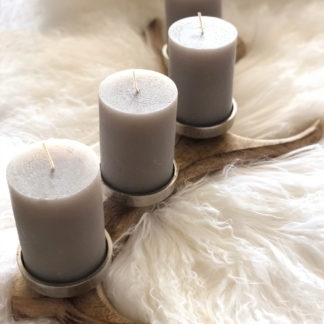 Kerzenständer , Teelichthalter Kerzenhalter Adventskranz Hirschgeweih Holz Metall 4 Kerzen