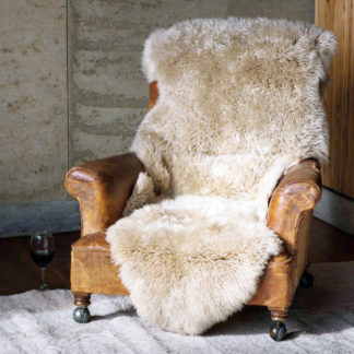 Neuseeland Schaffell Lammfell beige creme echt Fell sehr weich Premium Qualität von auskin Schaffell Neuseeland sehr groß 135x60 cm