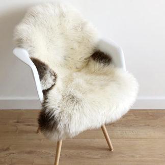 Neuseeland Schaffell Lammfell naturfarben hell beige creme weiß hell braun Heidschnucke , Premium Qualität sehr weich, auskin Felle
