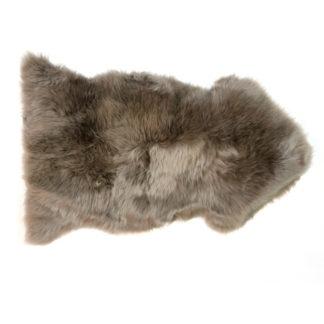 Neuseeland Lammfell Schaffell taupe braun auskin 95 x60 cm echt Fell hochwertig