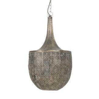 Hängelampe bronze gold längliche Marakesch Lampe sehr individuell von Light and Living Tanya Ø41 cmx74 cm