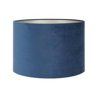 Lampenschirm petrol blau Samt Velour Petrol blau von der Marke Light and Living in verschieden Größen Zylinder rund 20cm 18 cm 30 cm