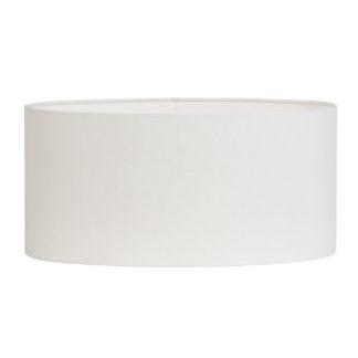 Lampenschirm weiß oval Stoff sehr edel Sommer Lampenschirme Sommerdekoration edle Tischlampen