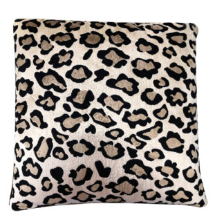 KISSEN LEOPARDEN MUSTER SAMT HOCHWERTIG LEOPARDENKISSEN TIGERKISSEN TIGERMOTIV PANTER KISSEN FAIZA VON LIGHT & LIVING DSCHUNGEL SAFARI STYLE DEKORATION TIGER LEOPARD LÖWE Panther Animal Print