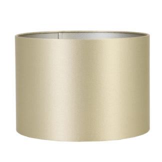 Lampenschirm Kalian gold 25x25x18 cm Lampenschirm Stoff edel Licht Lichtreflexe edle Tischlampe schwarz gold