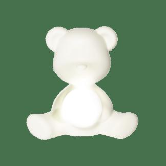 Teddybär Tischlampe weiß qeeboo Kinderzimmerlampe Tischlampe Kinderzimmer Mädchen Junge