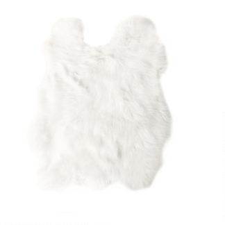 Kaninchenfell echt Fell Hasenfell weiß echt Fell Hase weiß Ostern Osterhase Dekoration Fell Osterdekoration Dekolieblinge