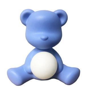 Kinderzimmer Lampe Leuchte Teddybär girl blau hell blau Kinderzimmer Leuchte Teddybär light blue von qeeboo Kinderzimmer Kinder Spielen Teddybär Leuchte