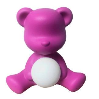 Tischleuchte Kinderzimmer Lampe Teddybär girl rosa pink fuchsia Kinderzimmer Leuchte Teddybär rosa pink von qeeboo Kinderzimmer Kinder Spielen Teddybär Leuchte