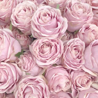 Kunstblume Blume Rose pink rosa wie echt Seidenblume Blumenstrauß Rosenstrauß edel 71 cm cm Blumen für Muttertag schenke Blumen Dekoration Rosen rosa pink