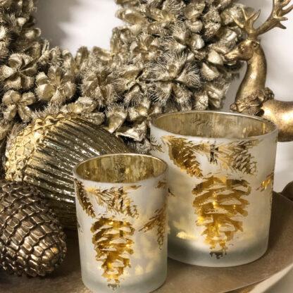 Kranz Naturkranz mit getrockneten Früchten silber platinum gold Kastanien Türkranz Wandkranz silber gold Weihnachtskranz edel