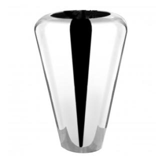 Fink Vase Bodenvase Venus silber vernickelt glatte Oberfläche Blumenvase sehr edel 45 cm hoch