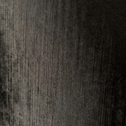Lampenschirm oval länglich schwarz Samt Velour XXL edel Luxus Extravaganz Lampenschirm Colmore