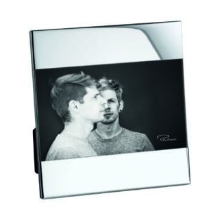 Bilderrahmen silber Glas Nickel glänzend für Bilder 10x15 Format von Philippi Bilderrahmen Zak