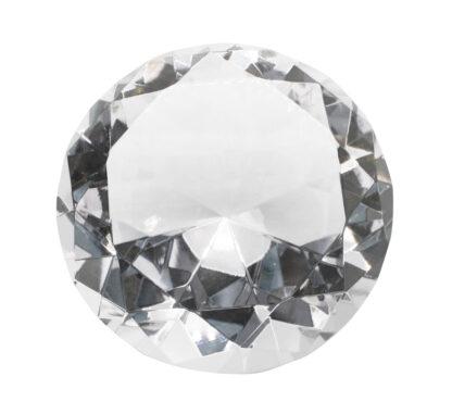 Kristall Diamant Deko Diamant transparent Klar Diamant-facetten groß schwer Luxus funkelnder Diamant
