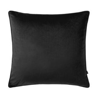 Kissen schwarz Samt Velours 45 cm mit Inlett Federn Bellini Scatter Box edel Luxus Kissen Kissen Dekoration