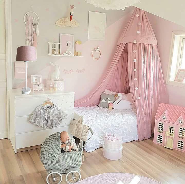 tischlampe rosa wei kinderzimmer m dchen rosa 44 cm. Black Bedroom Furniture Sets. Home Design Ideas